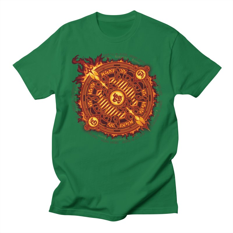 Ifrit Seal Men's T-Shirt by hechicero's Magic Shop