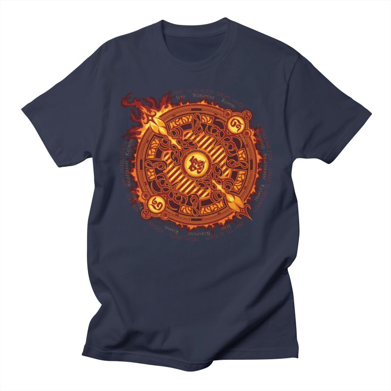 Ifrit Seal Men's Regular T-Shirt by hechicero's Magic Shop
