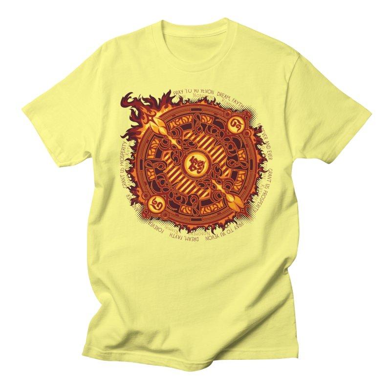 Ifrit Seal Women's Regular Unisex T-Shirt by hechicero's Magic Shop