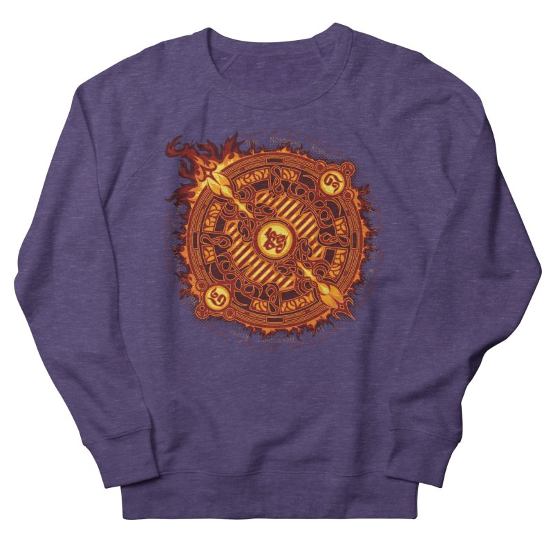 Ifrit Seal Women's French Terry Sweatshirt by hechicero's Magic Shop