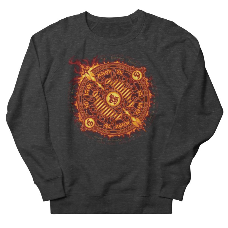 Ifrit Seal Men's French Terry Sweatshirt by hechicero's Magic Shop