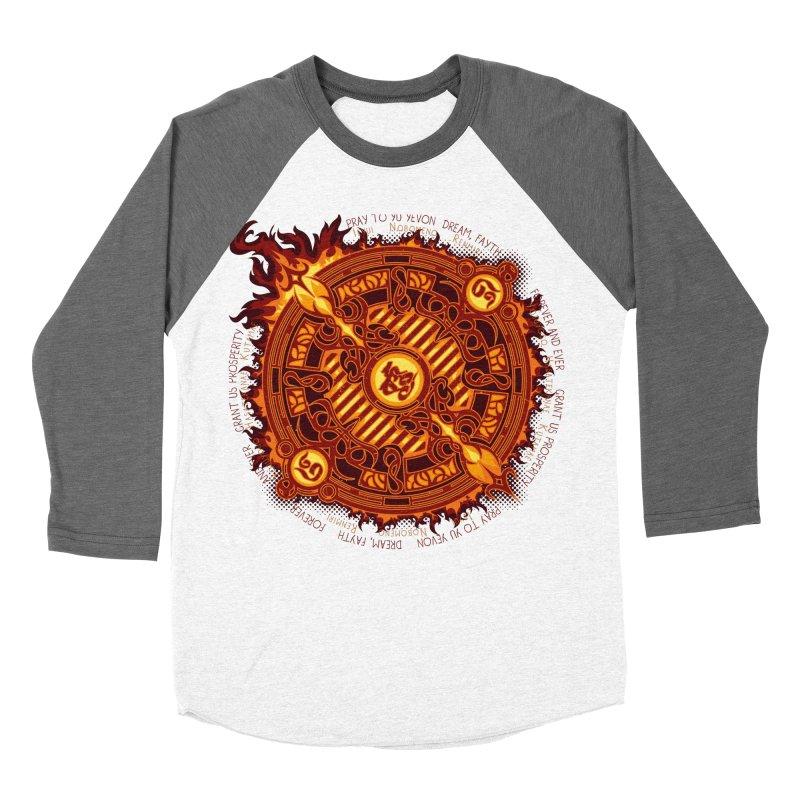 Ifrit Seal Women's Baseball Triblend Longsleeve T-Shirt by hechicero's Magic Shop