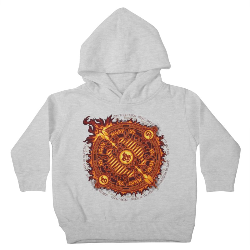 Ifrit Seal Kids Toddler Pullover Hoody by hechicero's Magic Shop