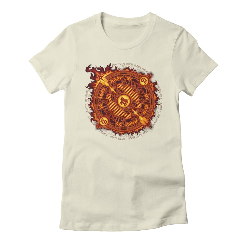Ifrit Seal Women's T-Shirt by hechicero's Magic Shop