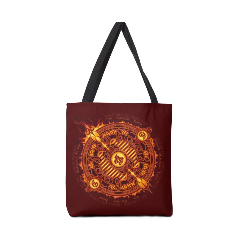 Ifrit Seal Accessories Tote Bag Bag by hechicero's Magic Shop