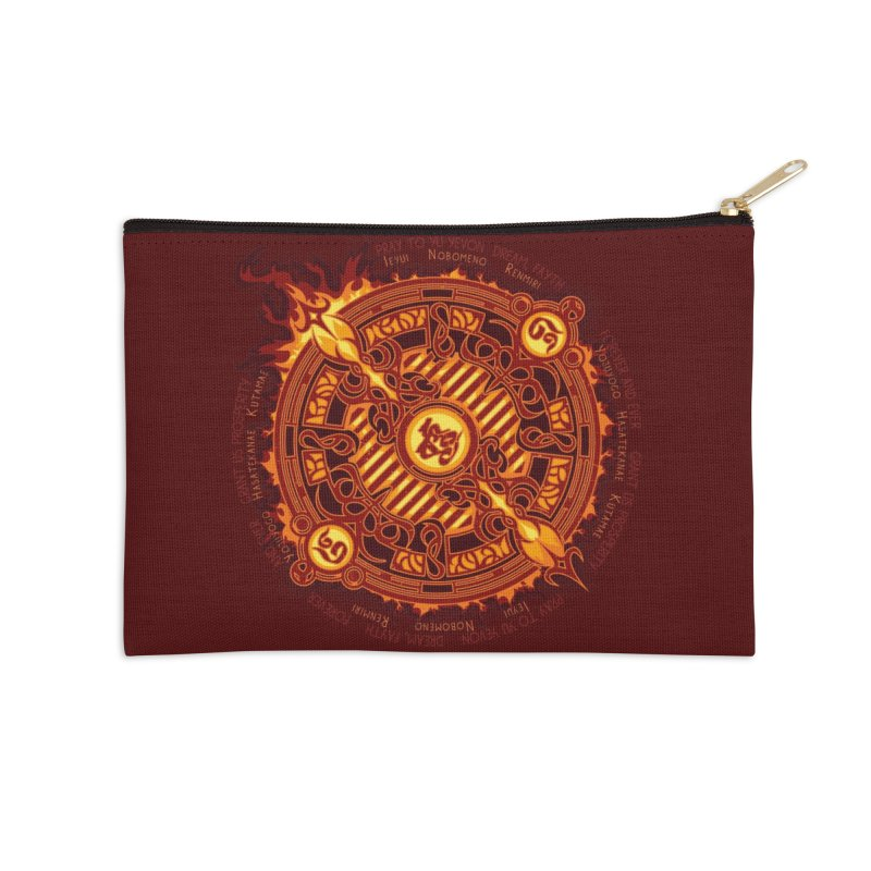 Ifrit Seal Accessories Zip Pouch by hechicero's Magic Shop