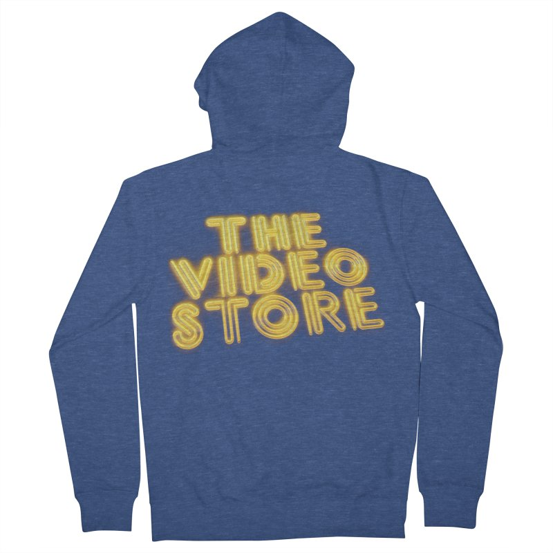 The Video Store - Logo Shirt Men's Zip-Up Hoody by The Official Hectic Films Shop