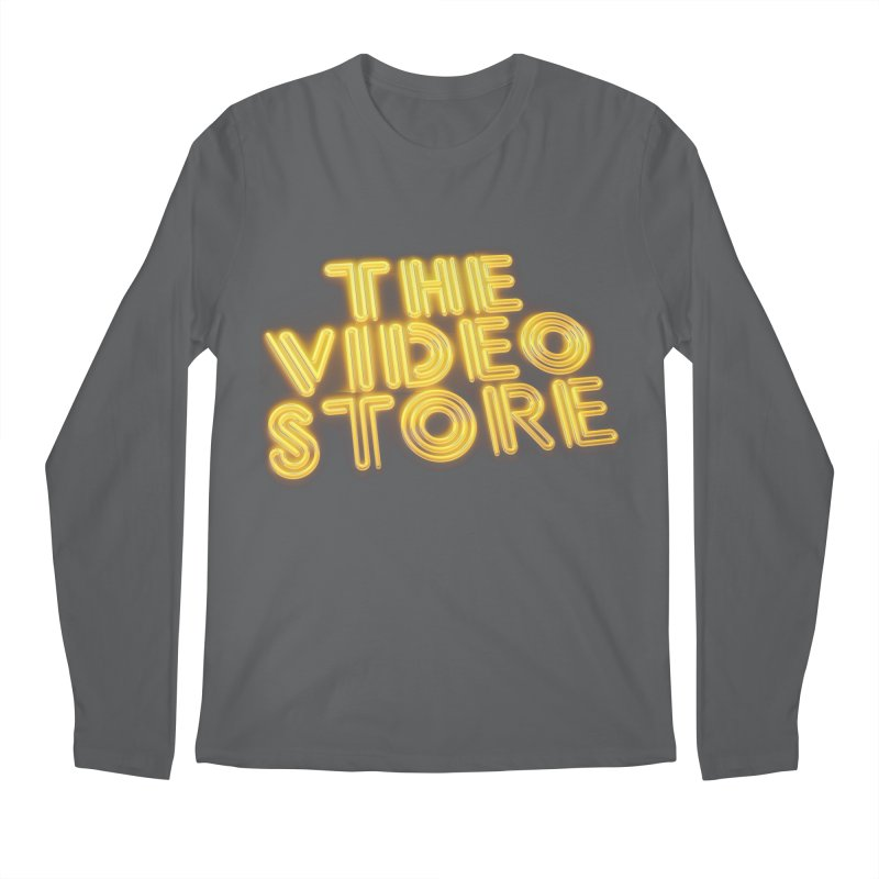 The Video Store - Logo Shirt Men's Longsleeve T-Shirt by The Official Hectic Films Shop