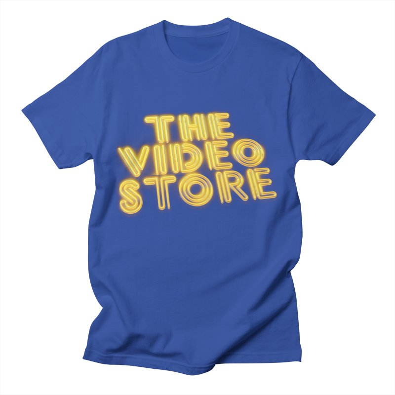 The Video Store - Logo Shirt Men's T-Shirt by The Official Hectic Films Shop