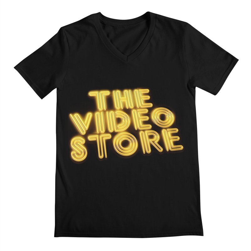 The Video Store - Logo Shirt Men's V-Neck by The Official Hectic Films Shop