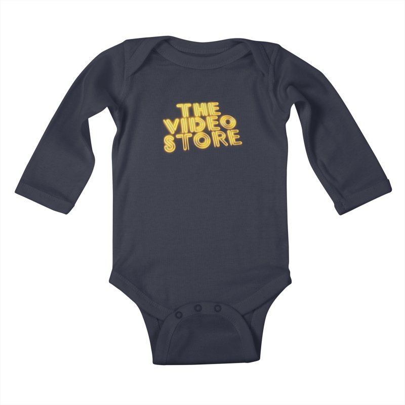 The Video Store - Logo Shirt Kids Baby Longsleeve Bodysuit by The Official Hectic Films Shop