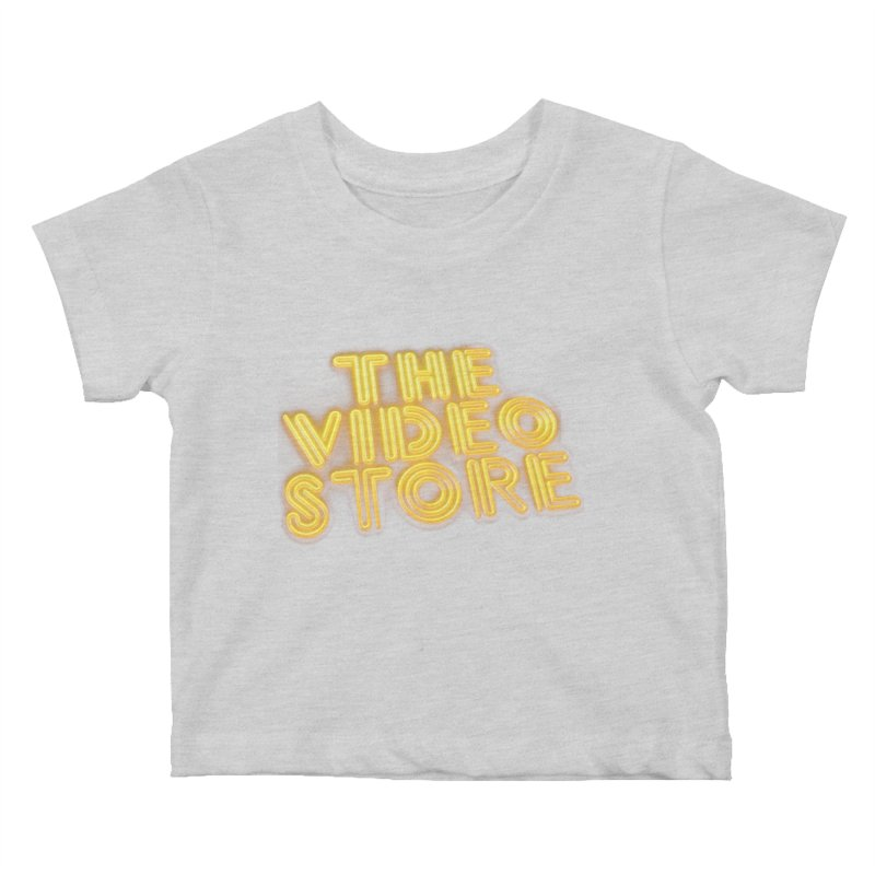The Video Store - Logo Shirt Kids Baby T-Shirt by The Official Hectic Films Shop