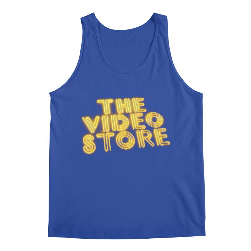 The Video Store - Logo Shirt Men's Tank by The Official Hectic Films Shop