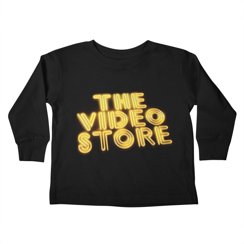 The Video Store - Logo Shirt Kids Toddler Longsleeve T-Shirt by The Official Hectic Films Shop