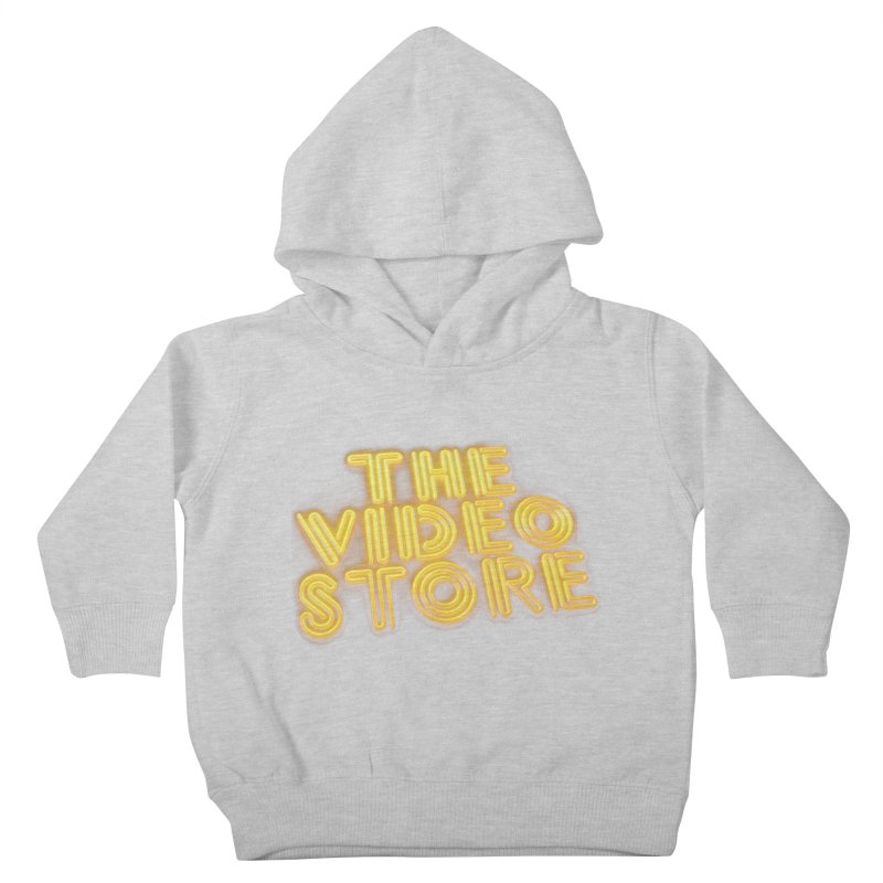 The Video Store - Logo Shirt Kids Toddler Pullover Hoody by The Official Hectic Films Shop