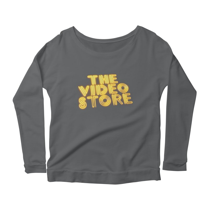 The Video Store - Logo Shirt Women's Longsleeve T-Shirt by The Official Hectic Films Shop