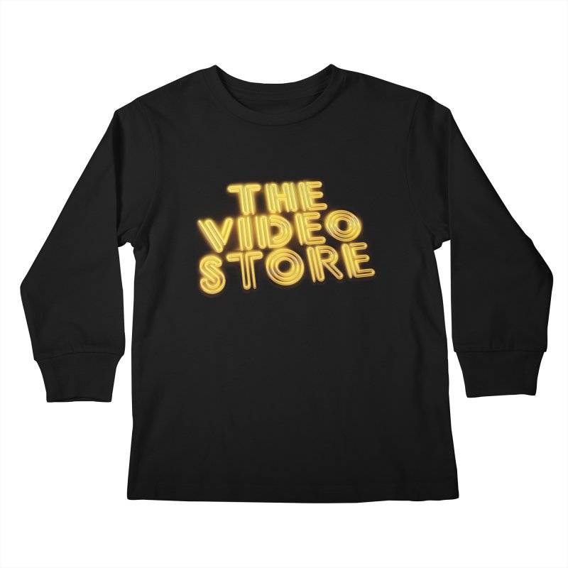 The Video Store - Logo Shirt Kids Longsleeve T-Shirt by The Official Hectic Films Shop