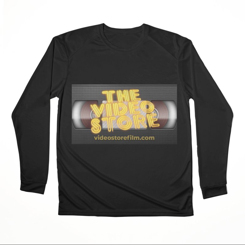 The Video Store VHS - Shirt Men's Longsleeve T-Shirt by The Official Hectic Films Shop