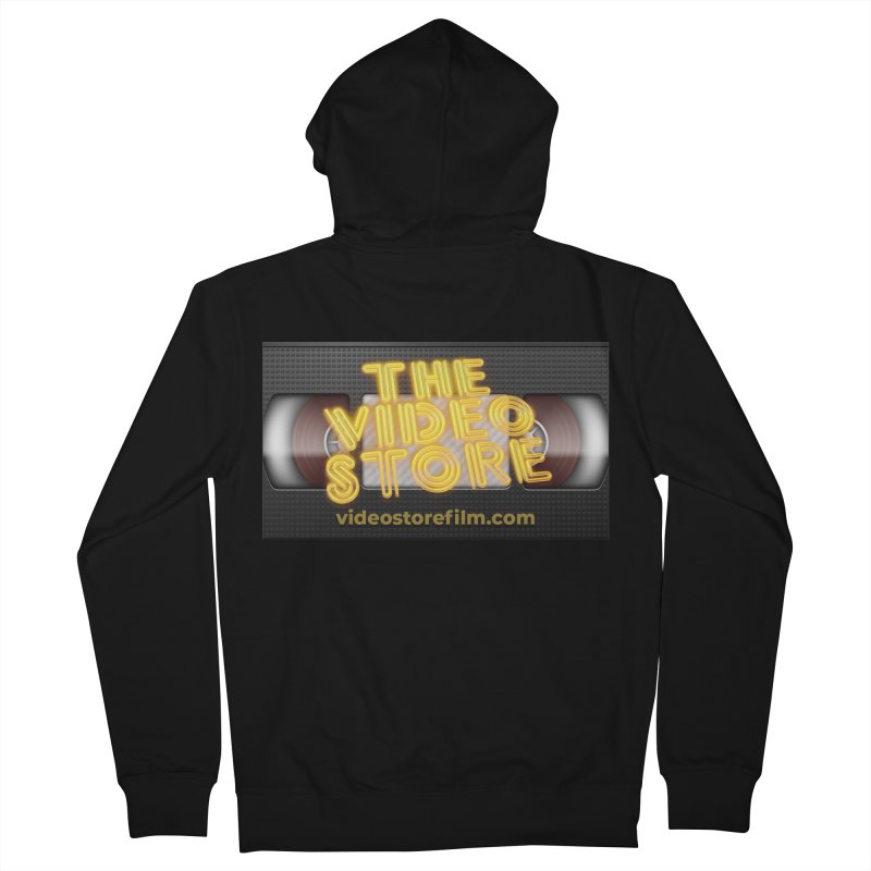 The Video Store VHS - Shirt Women's Zip-Up Hoody by The Official Hectic Films Shop
