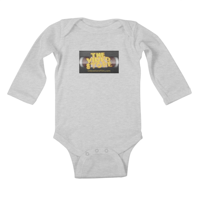 The Video Store VHS - Shirt Kids Baby Longsleeve Bodysuit by The Official Hectic Films Shop