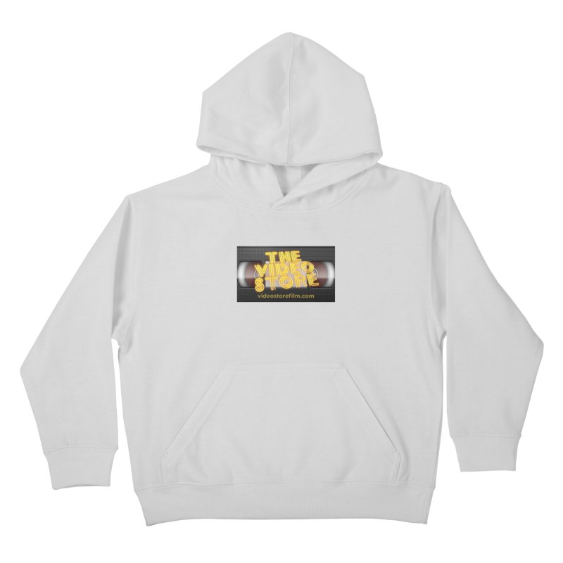 The Video Store VHS - Shirt Kids Pullover Hoody by The Official Hectic Films Shop