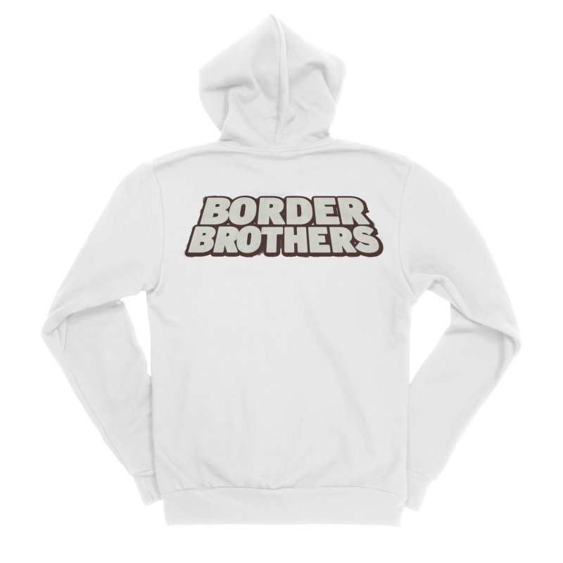 Border Brothers T-Shirt Men's Zip-Up Hoody by The Official Hectic Films Shop