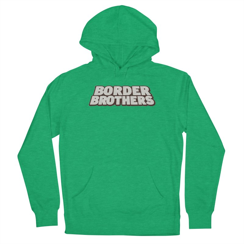 Border Brothers T-Shirt Men's Pullover Hoody by The Official Hectic Films Shop