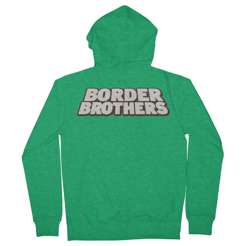 Border Brothers T-Shirt Women's Zip-Up Hoody by The Official Hectic Films Shop