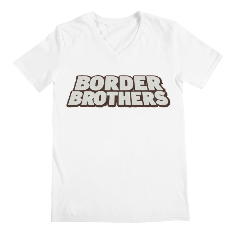 Border Brothers T-Shirt Men's V-Neck by The Official Hectic Films Shop