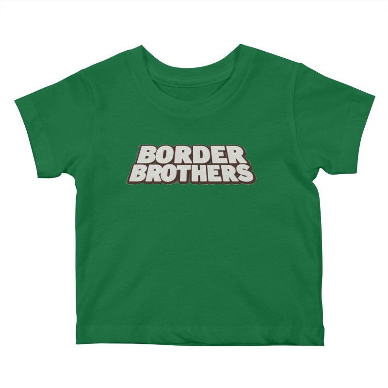 Border Brothers T-Shirt Kids Baby T-Shirt by The Official Hectic Films Shop
