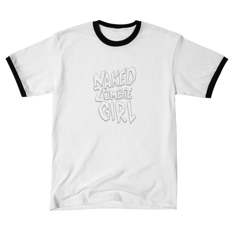 (Official) Naked Zombie Girl Logo - T-Shirt Men's T-Shirt by The Official Hectic Films Shop