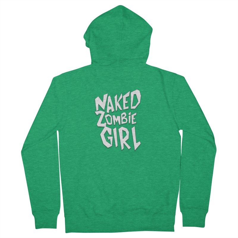 (Official) Naked Zombie Girl Logo - T-Shirt Women's Zip-Up Hoody by The Official Hectic Films Shop