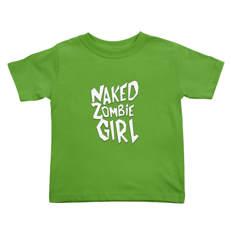 (Official) Naked Zombie Girl Logo - T-Shirt Kids Toddler T-Shirt by The Official Hectic Films Shop