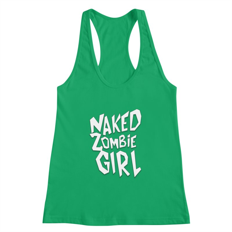 (Official) Naked Zombie Girl Logo - T-Shirt Women's Tank by The Official Hectic Films Shop