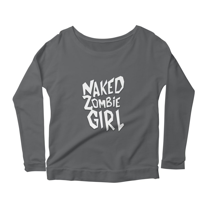 (Official) Naked Zombie Girl Logo - T-Shirt Women's Longsleeve T-Shirt by The Official Hectic Films Shop
