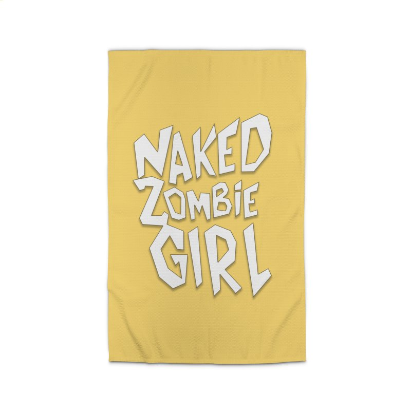 (Official) Naked Zombie Girl Logo - T-Shirt Home Rug by The Official Hectic Films Shop