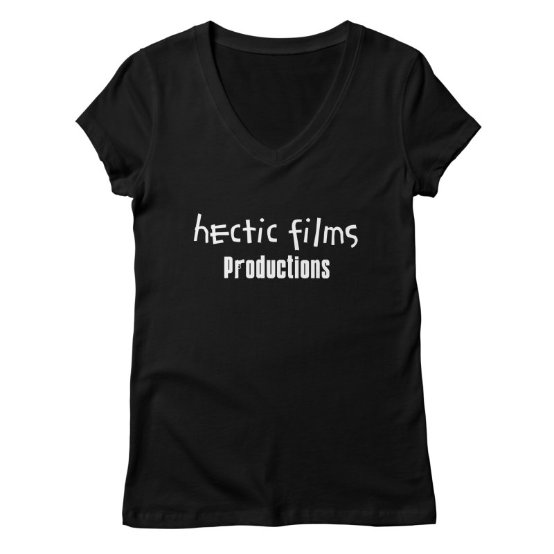 (Official) Hectic Films Classic T-Shirt Women's V-Neck by The Official Hectic Films Shop