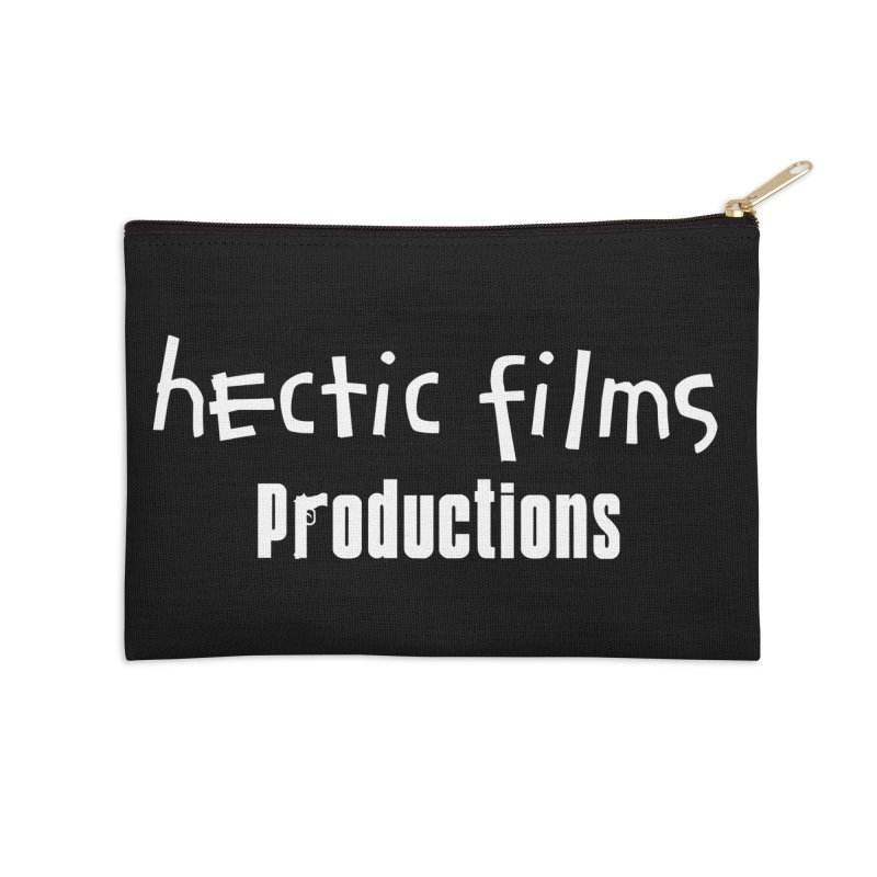 (Official) Hectic Films Classic T-Shirt Accessories Zip Pouch by The Official Hectic Films Shop