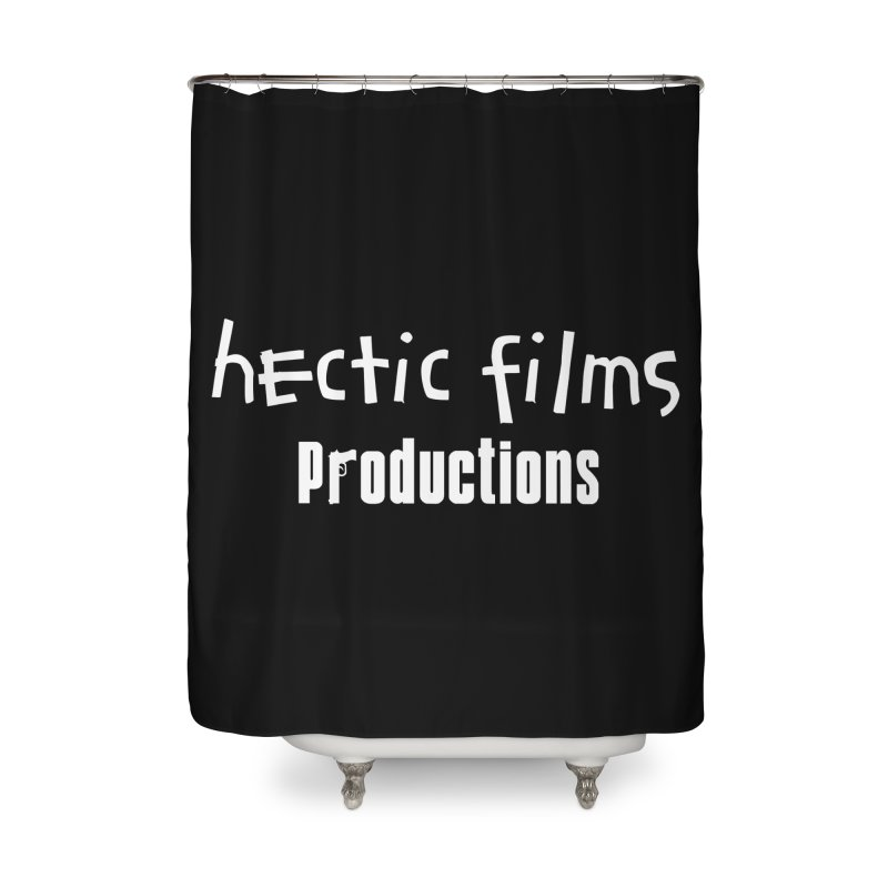 (Official) Hectic Films Classic T-Shirt Home Shower Curtain by The Official Hectic Films Shop