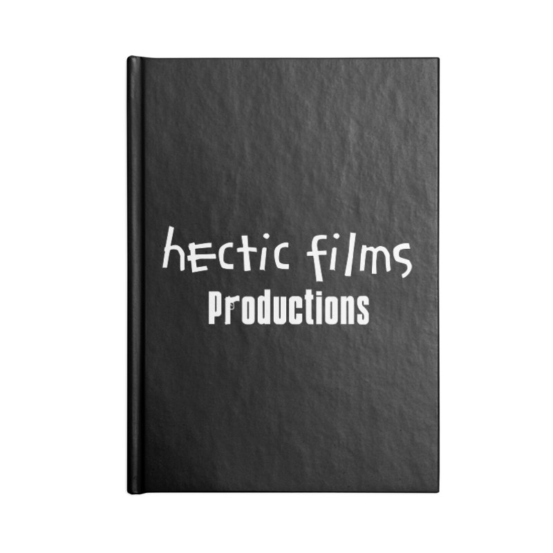 (Official) Hectic Films Classic T-Shirt Accessories Notebook by The Official Hectic Films Shop