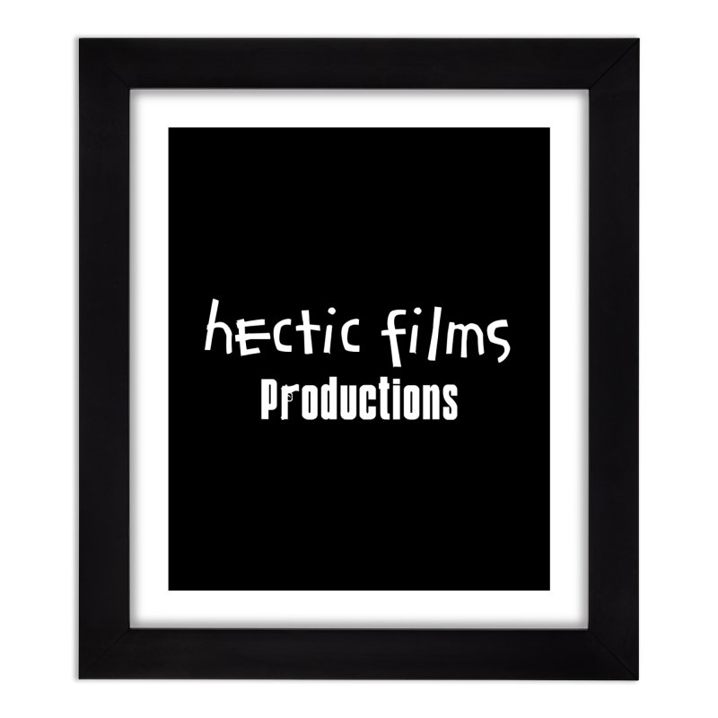(Official) Hectic Films Classic T-Shirt Home Framed Fine Art Print by The Official Hectic Films Shop