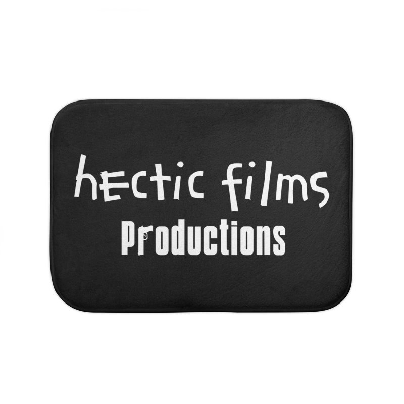 (Official) Hectic Films Classic T-Shirt Home Bath Mat by The Official Hectic Films Shop