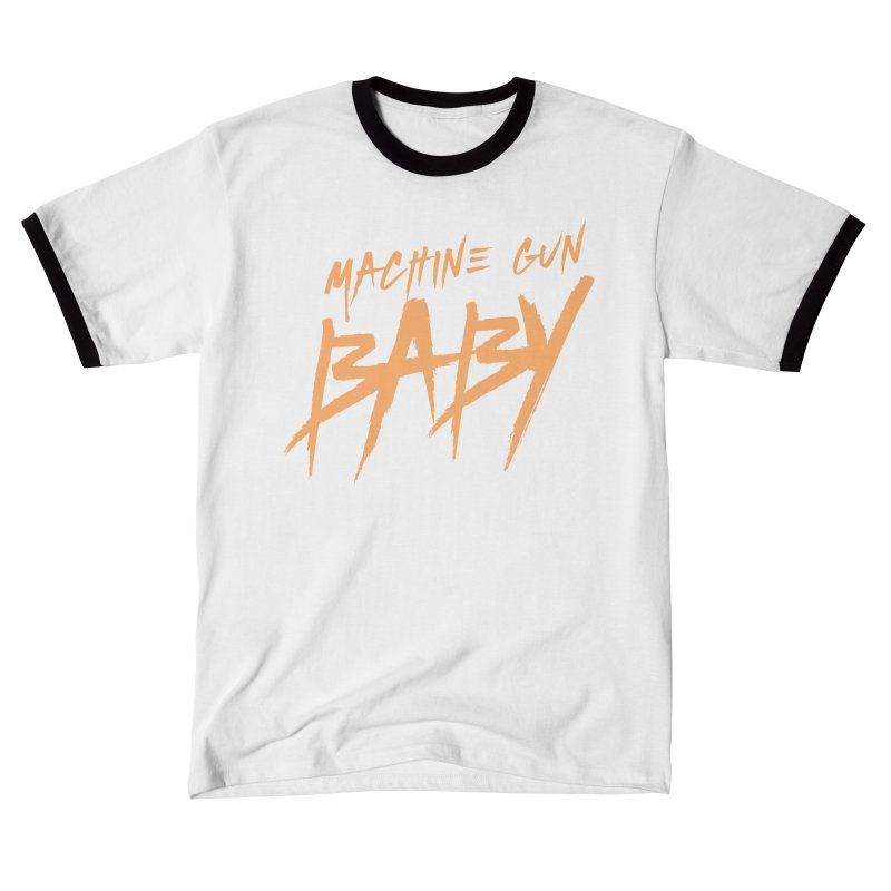 (Official) Machine Gun Baby - T-Shirt Men's T-Shirt by The Official Hectic Films Shop