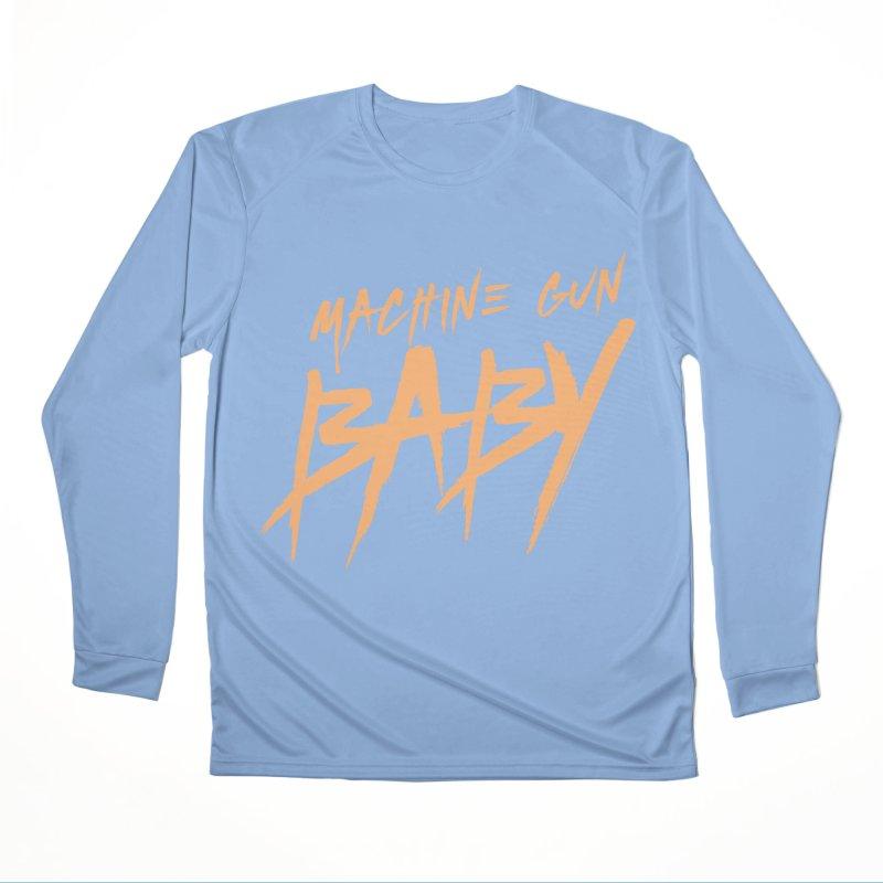 (Official) Machine Gun Baby - T-Shirt Women's Longsleeve T-Shirt by The Official Hectic Films Shop
