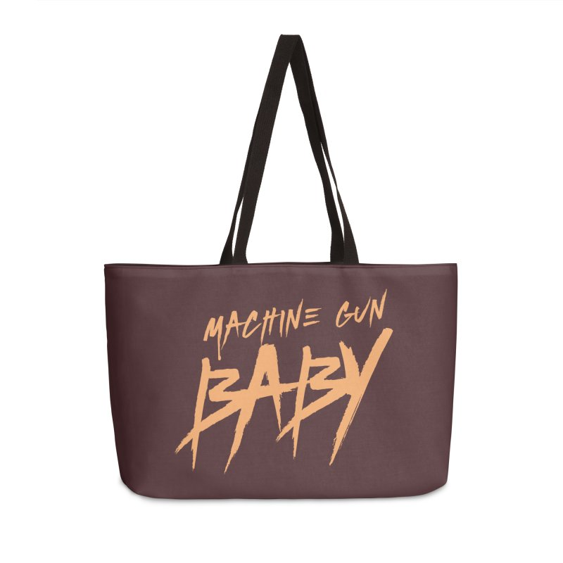 (Official) Machine Gun Baby - T-Shirt Accessories Bag by The Official Hectic Films Shop