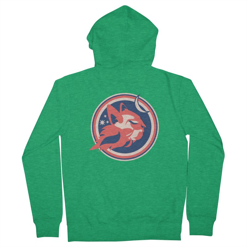 Space Cats Logo (Official) Women's Zip-Up Hoody by The Official Hectic Films Shop