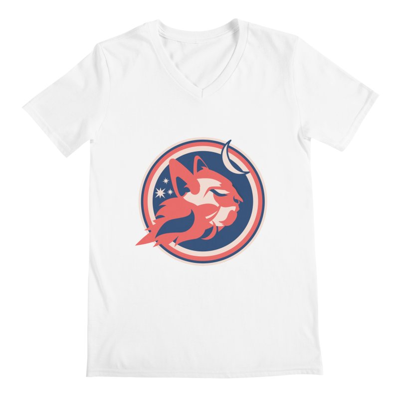 Space Cats Logo (Official) Men's V-Neck by The Official Hectic Films Shop