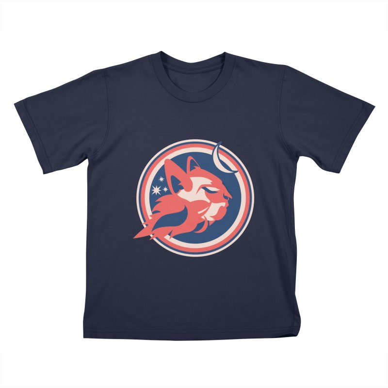 Space Cats Logo (Official) Kids T-Shirt by The Official Hectic Films Shop