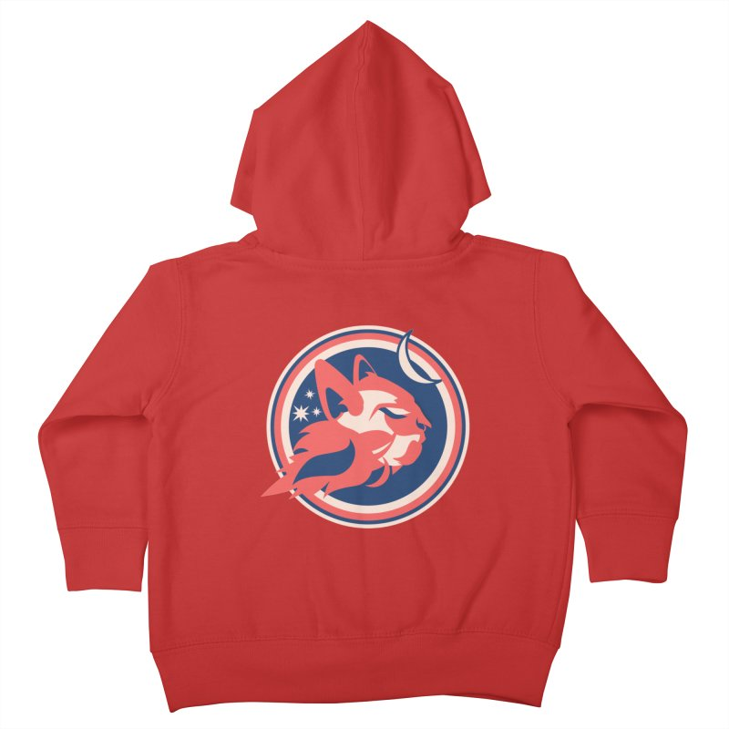 Space Cats Logo (Official) Kids Toddler Zip-Up Hoody by The Official Hectic Films Shop