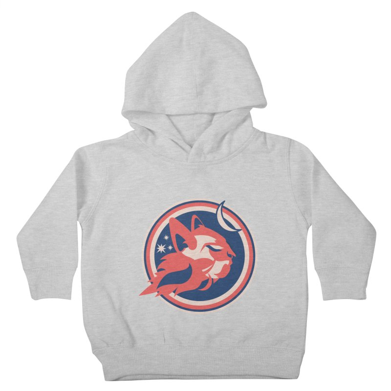 Space Cats Logo (Official) Kids Toddler Pullover Hoody by The Official Hectic Films Shop